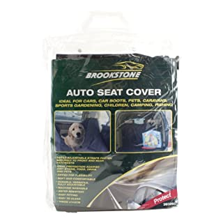 Brookstone Water Resistant Protective Rear Car Seat Dog / Pet Cover