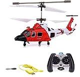 Elicottero radiocomandato RC, 3,5canali, 2,4GHz e tecnologia giroscopica, modello ad eliche, pronto per volare, con crash kit - HSP Himoto - amazon.it