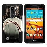 LG Volt 2 Case, Hard Rigid STRIKE Impact Case w/ Kickstand - Baseball
