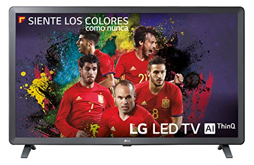 LG 32LK6100PLB - Smart TV de 32' (LED, Full HD, Inteligencia Artificial, Quad Core, 3 x HDR, Wi-Fi), Color Negro