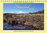 Neuseeland - Tongariro Nationalpark (Tischkalender 2018 DIN A5 quer): Eine mystische Reise im Reich der Vulkane, beginnt mit einer Wanderung durch den ... (Monatskalender, 14 Seiten ) (CALVENDO Orte)