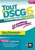 Tout le DSCG 6 - Oral d'économie