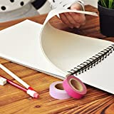 #9: Kurtzy A3 Size Artist Sketch Book With 160 GSM 24 Sheets Set of 2 For Painting Drawing with FREE Painting Palette