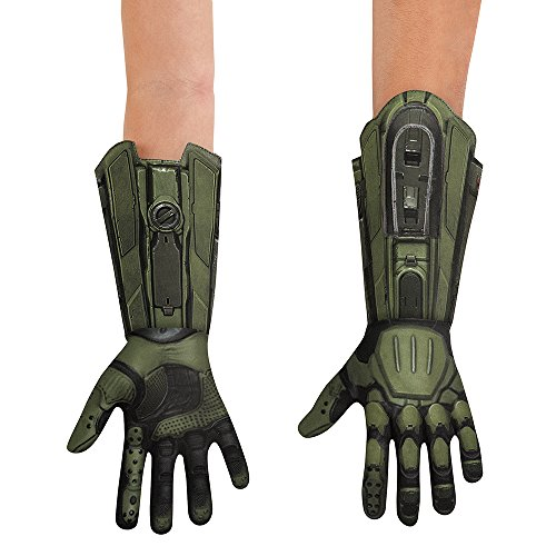 Halo Master Chief Deluxe Costume Gloves Child One (Master Kind Halo Chief Kostüme)