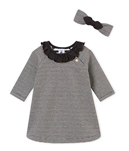 Petit Bateau Robes ML, Bébé Fille, Multicolore (Variante 1 00), 6-9 (Taille Fabricant:6M 6 Mois)