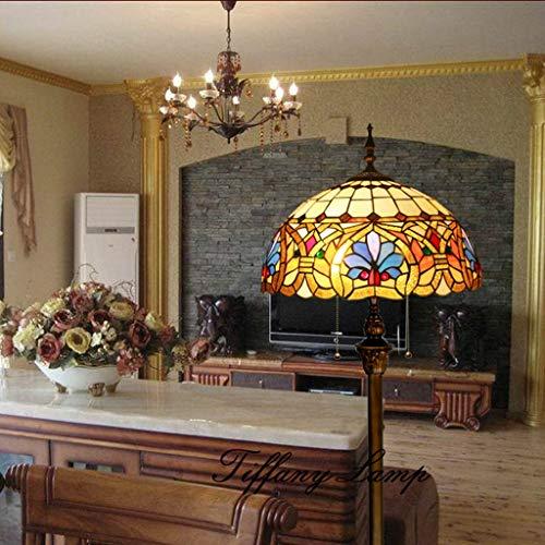 Gweat Tiffany Lampes de Chevet baroques de 16 po