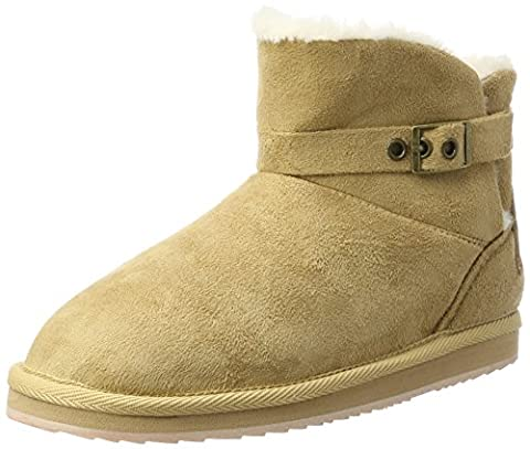 Pepe Jeans London Mädchen Angel Buckle Stiefel, Beige (Camel), 37 EU