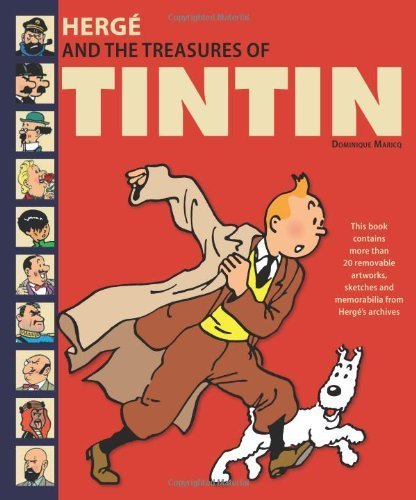 Herg?????and the Treasures of Tintin by Dominique Maricq (2013) Hardcover