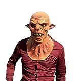 Wer-Wolf Mann Maske - perfekt für Fasching, Karneval & Halloween - Kostüm für Erwachsene - Latex, Unisex Einheitsgröße