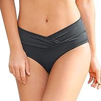 ITISME Bikini Pezzo sotto Slip Tankini, Brasiliana Donna Mare Push Up Sexy Vita Alta Waisted Nuotare Parte Inferiore…