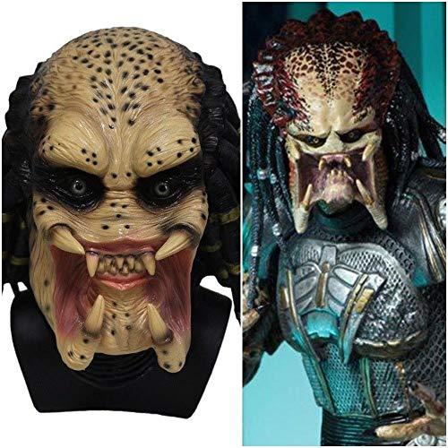 Kostüm Kinder Predator - B-Creative Die Predator-Maske Erwachsene Fancy Kleid Theme Kostüm Party Night Cosplay Geburtstag