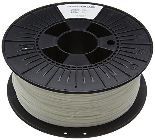 Prima Filaments PV-PLA-175-1000-WH PLA Filament für 3D-Drucker, 1.75 mm, 1 kg spule, Weiß