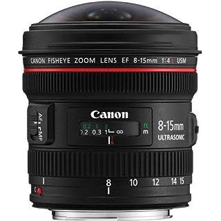Canon EF 8-15mm f/4L Fisheye USM - Objetivo para Canon (Distancia Focal 8-15mm, Apertura f/4-22, Zoom óptico 1.9X,) Negro (B0040YEFKI) | Amazon price tracker / tracking, Amazon price history charts, Amazon price watches, Amazon price drop alerts