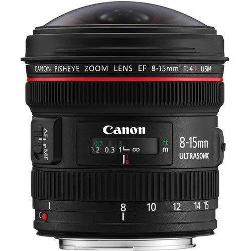 Canon EF 8-15mm F4 L Fisheye USM Objektiv (Filterhalter) schwarz