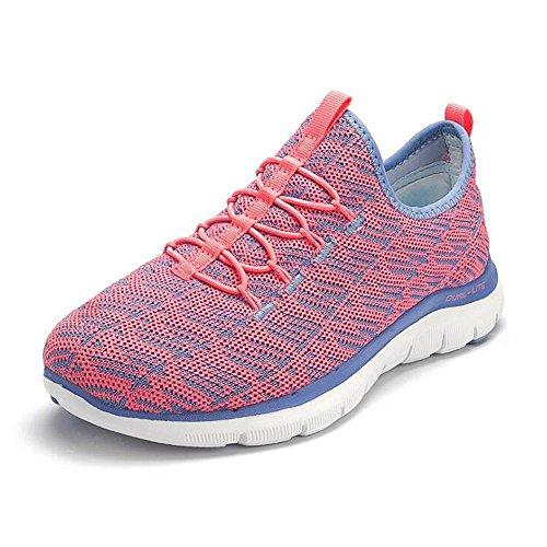 Le donne cadono in mare sport scarpe casual scarpe respirabili scarpe da ginnastica scarpe nere Pink