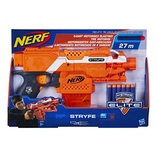 Hasbro A0200EU4 - N-Strike Elite Stryfe halbautomatischer Spielzeugblaster -