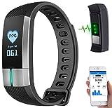 newgen-medicals-Uhr-mit-Blutdruckanzeige-Fitness-Armband-mit-Blutdruck-Herzfrequenz-und-EKG-Anzeige-IP67-Smartwatch-Fitnessuhren