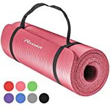 Reehut Tapis D'exercices de Yoga- 12 mm Très épais NBR Haute...