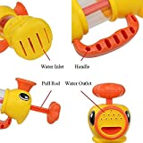 ulooie Creative Baby Kind Kinder Duck Form Pumpe Bad Wasser Pool Toys Spray