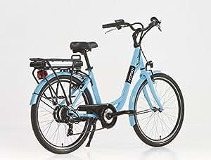 Vélo électrique Ville Linaria Bleu-36 V - 9 Ah
