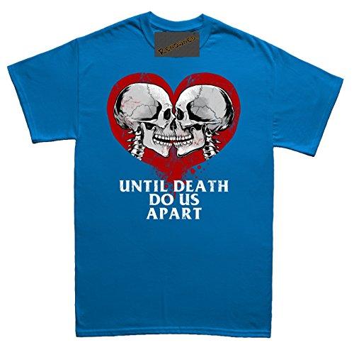 Renowned Emo Valentines Day True Love Unisex - Kinder T Shirt Blau