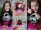 Bambola di stoffa fatta a mano - Boninga Dolls: Mini BAMBOLA PERSONALIZZATA (6,5cm/7cm)
