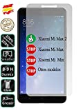 Protector de Pantalla Cristal Templado Vidrio 9H Premium para Xiaomi MI Max 2 - Movilrey