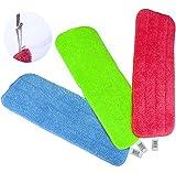 Vadrouille de Nettoyage Reveal Serviette adéquate pour Tous les Serpillères Spray & les serpillères lavables Reveal 16,5 * 5,11 Pouces (3pcs)