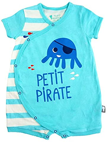 Petit Béguin - Baby Jungen Spieler Strampler kleiner Pirat Gr. 86 (18M)