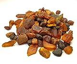 Piedras Redondas de ámbar báltico (75 Gramos), Resina de ámbar báltico, Genuino y Natural. Random Lot NTSA75