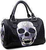 Star-Trends Damen Handtasche Totenkopf Skull Bone...