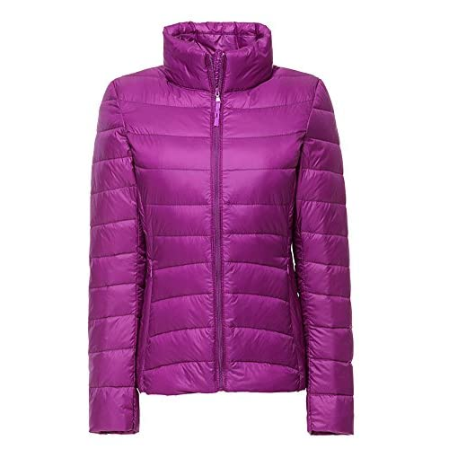 51mwKyc TbL. SS500  - ZhuiKun Womens/Ladies Ultra Lightweight Long Sleeves Packable Down Puffer Jacket