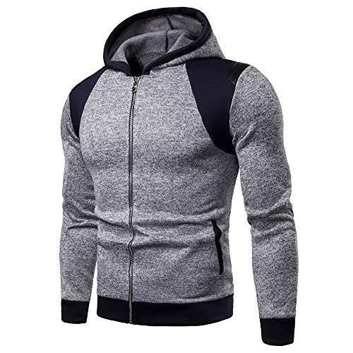 d705c245 Men New Fashion Autumn Casual Daily tops Men Long Sleeve Winter Patchwork  Hoodies Blouse Tracksuits