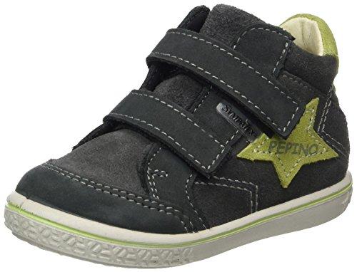Ricosta Jungen Kimo Hohe Sneaker, Grigio/Acido, 00025 EU