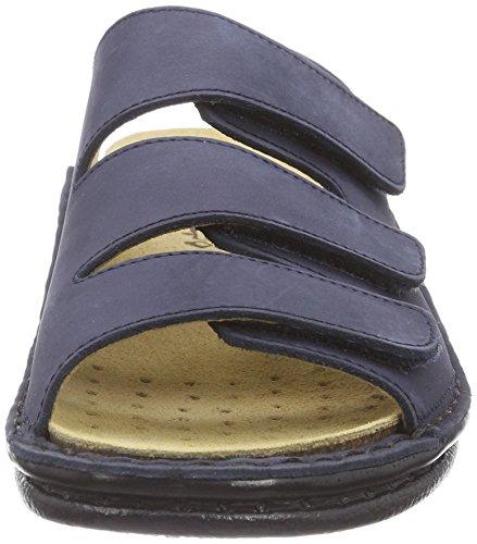 Fischer Damen Pantoletten Blau (521 marine)