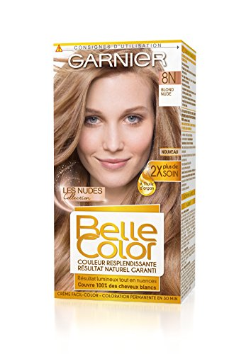 Garnier - Belle Color - Coloration 8N Blond Nude - Lot de 2