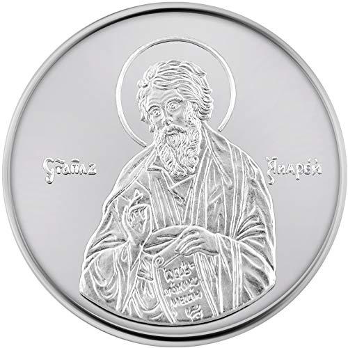 Conmemorativo Religiosa Medalla de oro amarillo 24K Andrés...