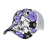 DEDUDUDU Baseball Cap Modische Baseball Mützen Baseballkappe Trucker Cap Baumwolle Snapback Hut Unisex Sonnenhut für Damen Männer oder Kinder zum Sport und Reisen
