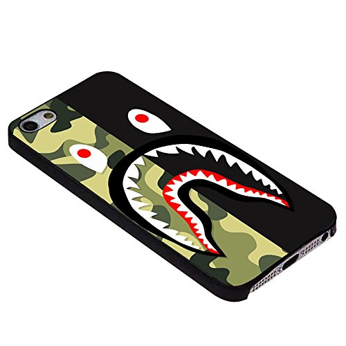 Bape sharkc für iPhone Fall, iPhone 6 Black -