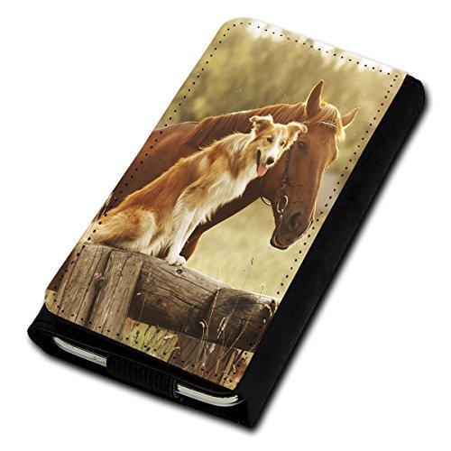 530 Lumia Blau Case Nokia Handy (Book Style Flip Handy Tasche Case Schutz Hülle Foto Schale Motiv Etui für Nokia Lumia 530 - U5 Design5)