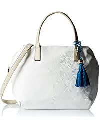 Gussaci Italy Women's Handbag (White) (GUS068)