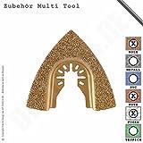 Hartmetall Raspel Dreiecksform Kleber/Putz für Multifunktionswerkzeug Multi Tool