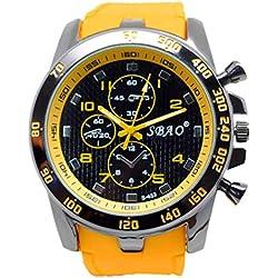For Men Wrist Watch, BZLine ® Newest Fashion Stainless Steel Luxury Sport Analog Quartz Modern Men Wrist Watch