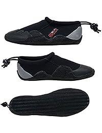 Gul 3mm Neoprene Power Shoe BLACK/GREY Sizes 4-13