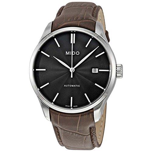 Mido Herren Analog Automatik Uhr mit Leder Armband M0244071606100