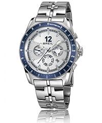 Idea Regalo - Breil orologio da uomo con cronografo in argento e argento in acciaio INOX TW1138