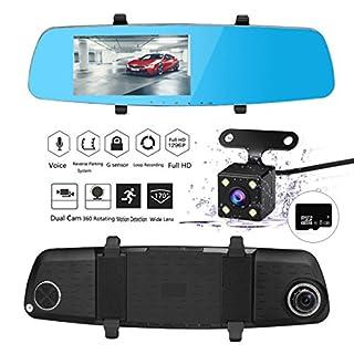 Apleye Car DVR Dash Cam, 5.0