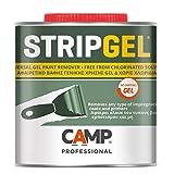 Camp STRIP GEL, Sverniciatore professionale in gel per legno, ferro e muro, Elimina vernici, impregnanti e fondi