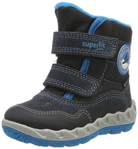 superfit Boys' Icebird Snow Boots, Grey (Grau/Blue 20), 11.5 UK