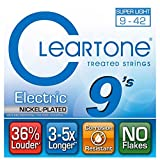 Cleartone E-Git.Saiten,09-42,CT9409 Ultra Light, EMP Strings